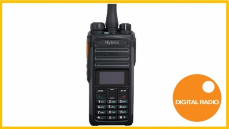 HYTERA PD485 DIGITAL / ANALOG JAKTRADIO